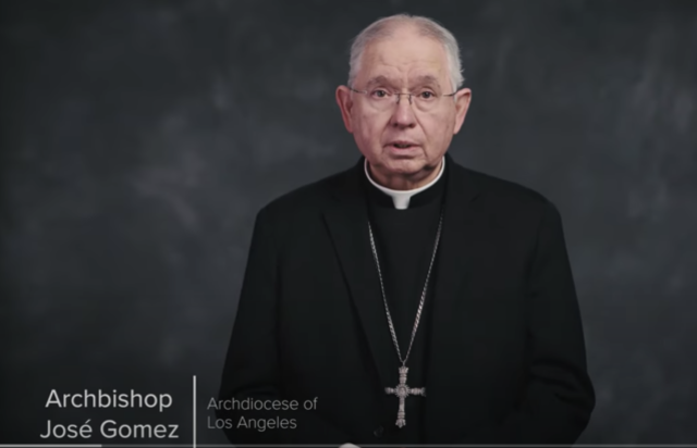 Easter Message from Archbishop Gomez