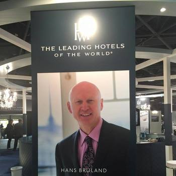 Hans Bruland Recognized by HOTELS Magazine
