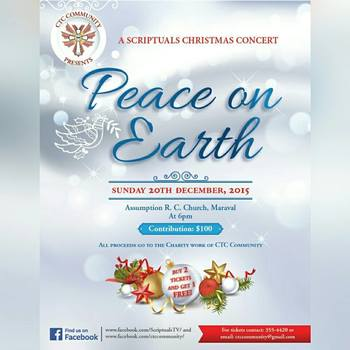 A Scriptuals Christmas Presents - Peace on Earth