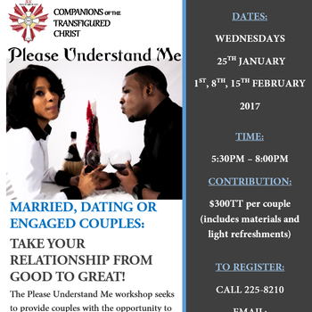 Please Understand Me: A Workshop for Couples