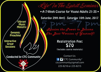 Life in the Spirit Seminar