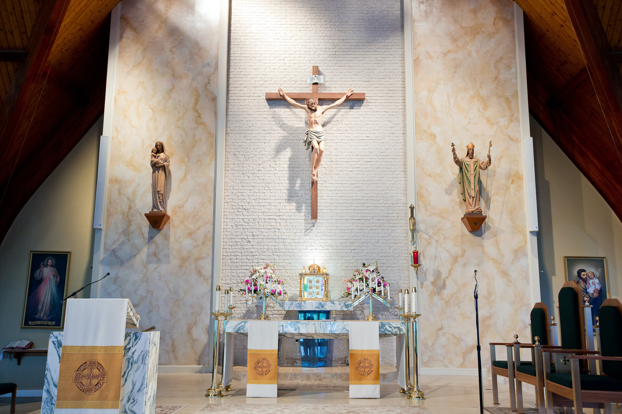 Welcome to St. Patrick's Catholic Church