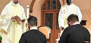 Noel Oco, Andrew Phillips and Noel Bustillos Make First Profession of Vows with Canada