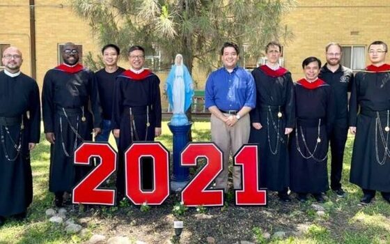Five Redemptorists Graduate from Oblate School of Theology