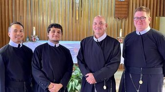 Theology House Welcomes New Members, Prepares for New School Year