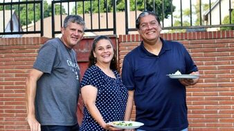 St. Mary's in Whittier: The Parish Family Is Celebrating Together Again!