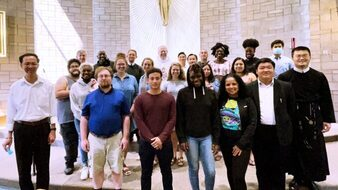 """Baltimore Hosts Young Adult Retreat, """"Faith, Hope and Love in Pandemic Times."""""""