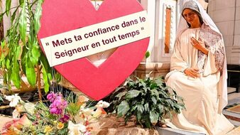Novena to Saint Anne at the Shrine in Quebec, Canada