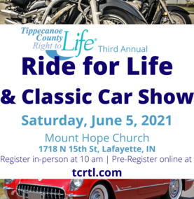 Third Annual RIDE FOR LIFE and Classic Car Show