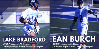 Loyola Lacrosse Players named to Preseason All State Team