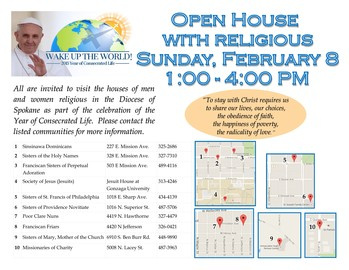 Day of Open House (Year of Consecrated Life activity)