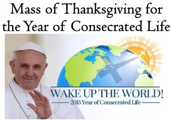 A Celebration for the Year of Consecrated Life