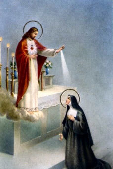 Blessed Feast Day, Sr. Margarite Marie! (St. Margaret Mary Alacoque)