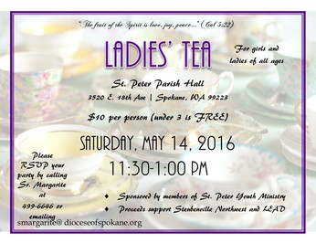 Ladies' Tea