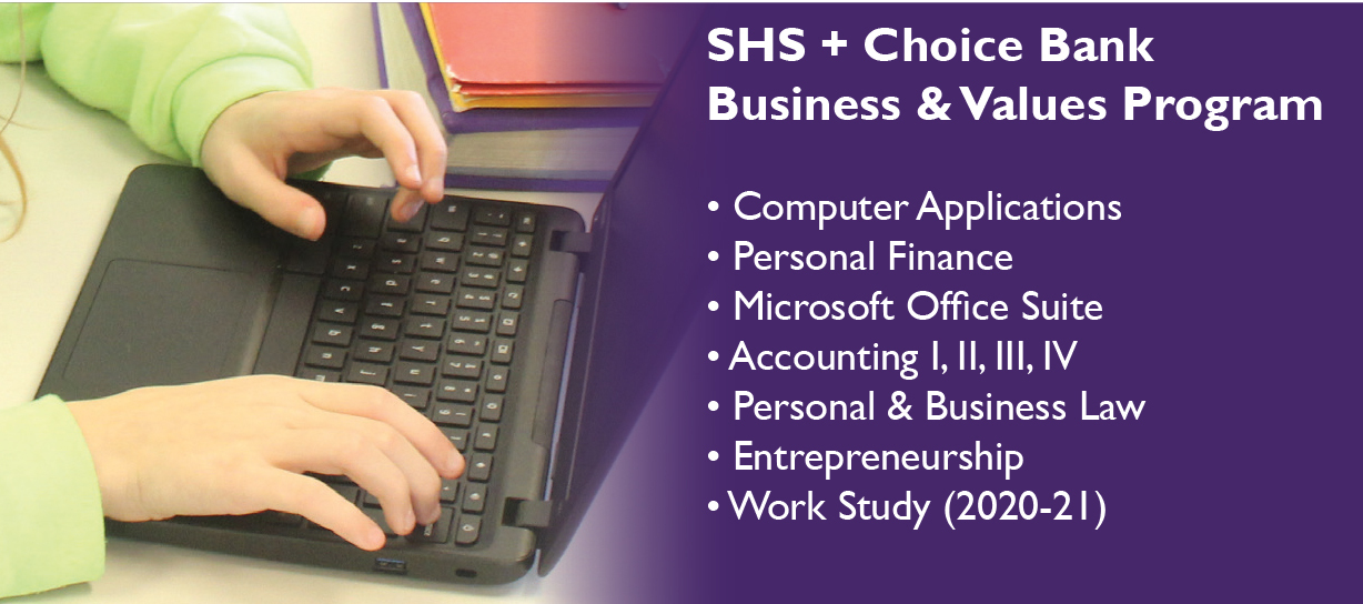 Sacred Heart School + Choice Bank Business & Values Program rollout