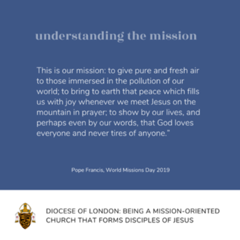 Learning aboutthe Vision:Whatis our mission?