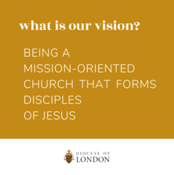 What is Bishop Fabbro's vision for the Diocese of London?