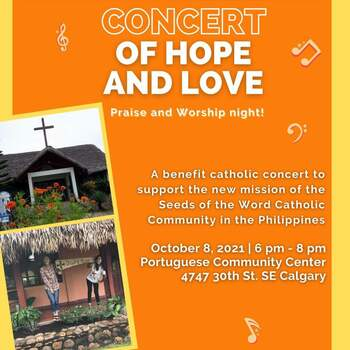 Concert of Hope and Love Praise and Worship Night