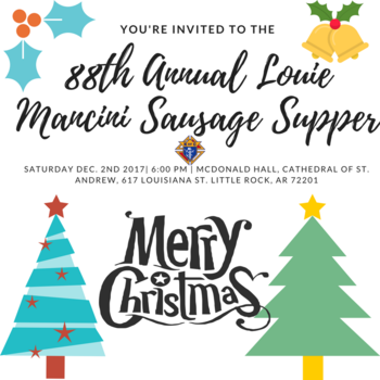 88th Annual Louie Mancini Sausage Supper