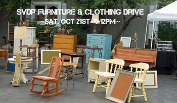 SVDP Furniture & Clothing Drive