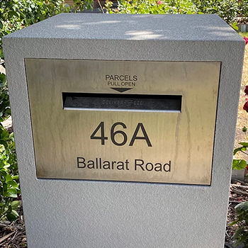 Use our New Mailbox