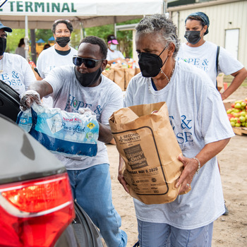 Hope and Purpose serves a thousand in need in southeast Louisiana