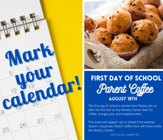 Back to School Parent Coffee