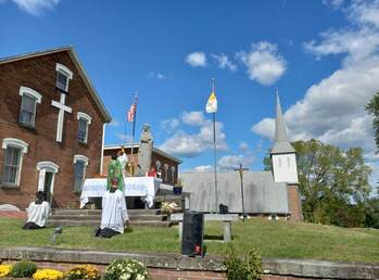First E.F. Mass in decades offered at Altar of Nat'l. Shrine