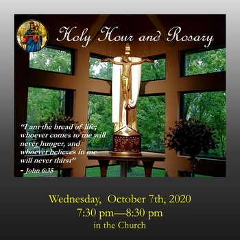 Holy Hour / Rosary