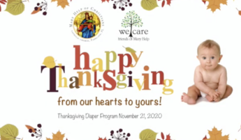 Diaper Bank & Thanksgiving Day