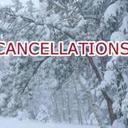 Snow Cancellations for Wednesday, March 21st