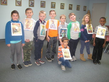 Mrs. Pugatch's Second Grade Saints