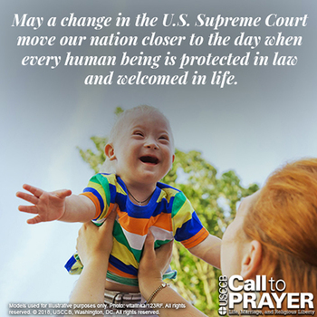 Novena for the Legal Protection of Human Life