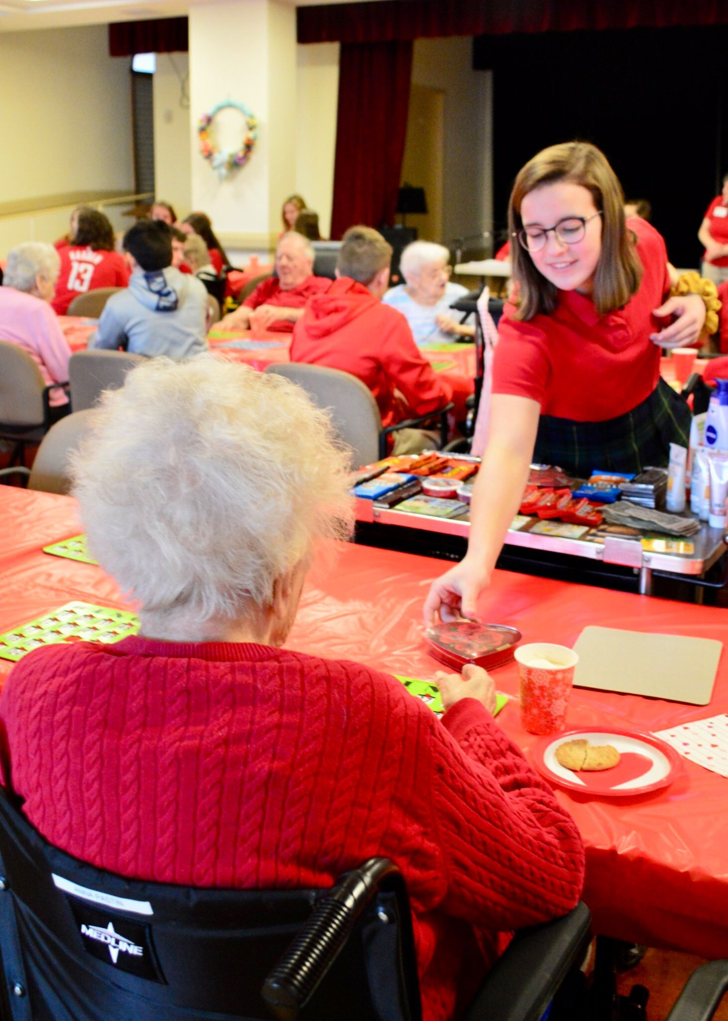 Valentine's Day at Little Sisters of the Poor