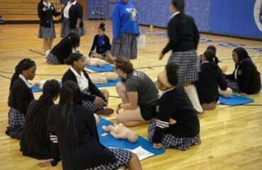 CPR Training for High School Students at SMA