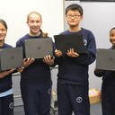 Mother of Providence Receives a Grant for Chromebooks