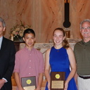 Mother of Providence Students Awarded the Monsignor Stevenson CYO Award