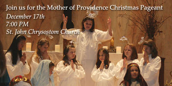 Mother of Providence Christmas Pageant