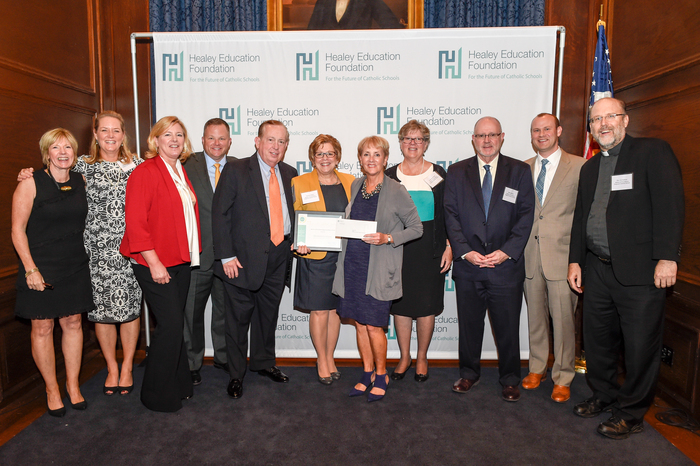 Mother of Providence Regional Catholic School (Wallingford, PA) received  the award for Highest Percentage Growth in the Annual Fund, Elementary  School ...