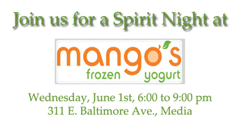 Spirit Night at Mango's in Media