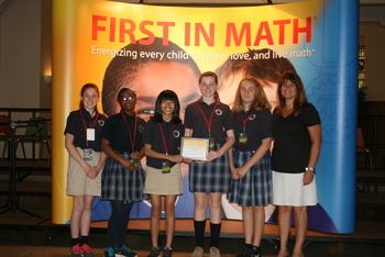 Mother of Providence Places Nationally in First in Math