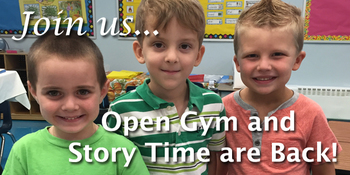 Open Gym and Story Time at Mother of Providence