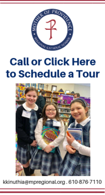 Schedule a Tour to see Mother of Providence, Preschool, Elementary, Middle School
