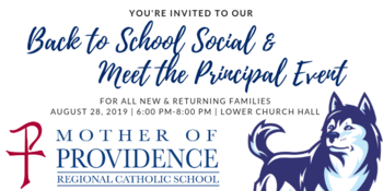 Back to School Social & Meet the Principal