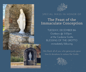 Holy Mass in Honor of the Immaculate Conception of Mary