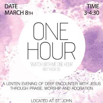 """One Hour"" Event for Youth"