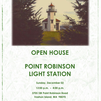 Open House at Point Robinson Light Station