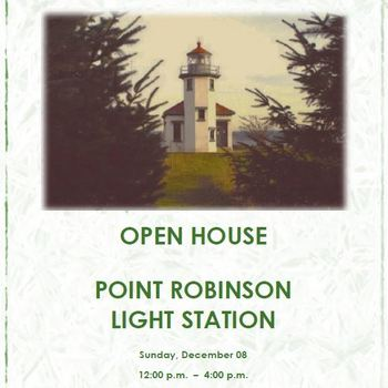 Point Robinson Holiday Open House