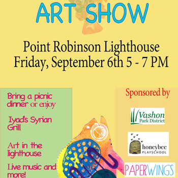 FIRST FRIDAY ART SHOW AT POINT ROBINSON LIGHTHOUSE!