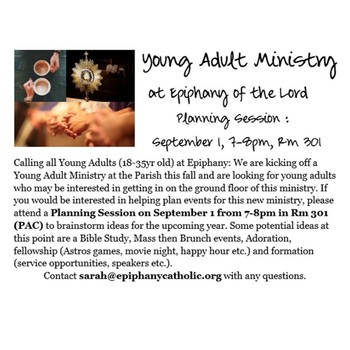 Young Adult Planning Session